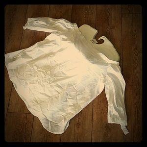 NEW Cato White Summer Shirt Top sz 18/20